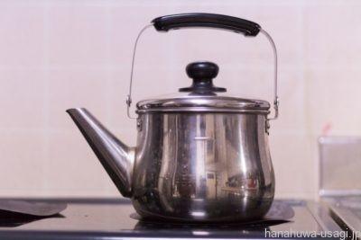 うさぎ用給水器は耐熱性が無いので熱湯は使用禁止