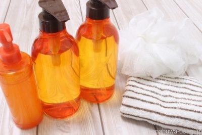 ①うさぎがなめないようにハンドクリームや化粧品を落とす