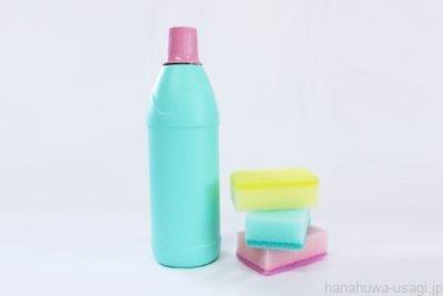 うさぎ用給水器は塩素系漂白剤で洗わない方がいい