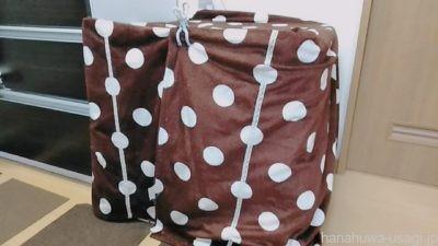 うさぎの寒さ対策「毛布やフリースを布カバーに代用」