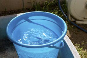 うさぎが飲める水(汲み置きの水)