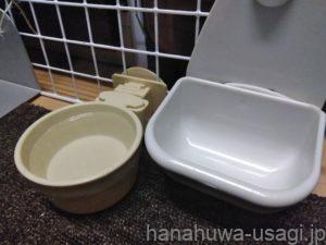 換毛対策4.うさぎの水分摂取量が低下しないようにする