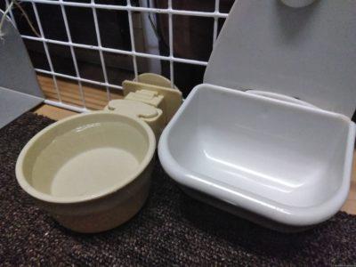 うさぎの水入れ(水入れ皿)